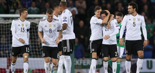 Germany - FIFA 2018 World Cup Qualifier