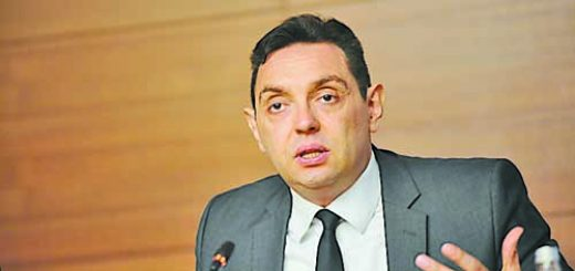 Beograd, 17. februara 2016 - Ministar za rad, zaposljavanje, boracka i socijalna pitanja Aleksandar Vulin govori na otvaranju Konferencije o Programu EU za zaposljavanje i socijalne inovacije - EaSI i fondovima EU u oblasti zaposljavanja i socijalne politike. EaSI program je glavni fond Evropske unije u oblasti rada, zaposljavanja i socijalne politike, koji je otvoren i za drzave kandidate za clanstvo u Uniji.  FOTO TANJUG / OKSANA TOSKIC / bb
