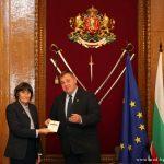 По случай 24 май министърът на отбраната награди Здравка Евтимова