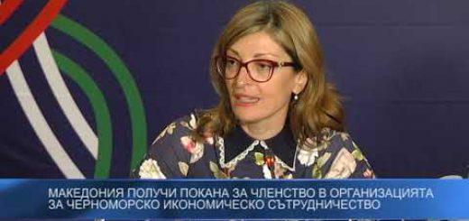 Македония получи покана за членство в организацията за Черноморско икономическо сътрудничество