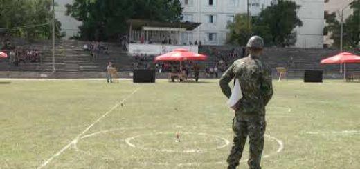 В Шумен продължава ДВШ по военен трибой – хвърляне на граната