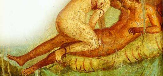 Pompeii_-_Casa_del_Centenario_-_Love_scene