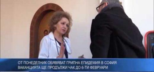 От понеделник обявяват грипна епидемия в София – ваканцията ще продължи чак до 6-ти февруари