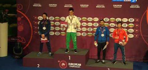 Едмонд Назарян е европейски шампион в категория до 55 кг