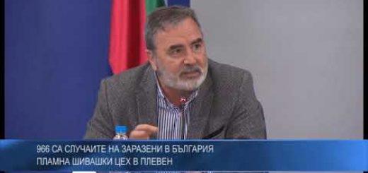 966 са случаите на заразени в България – пламна шивашки цех в Плевен