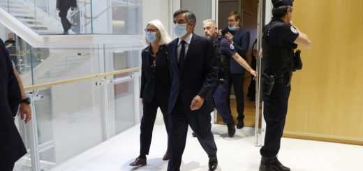 Trial of ex-French Prime Minister Fillon and his wife in Paris